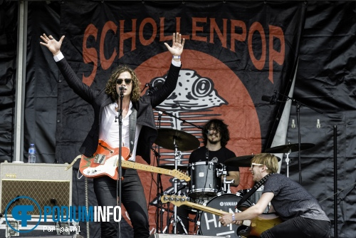 Lucas Hamming op Schollenpop 2015 foto