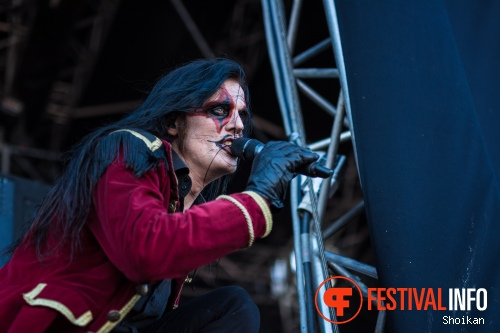 Avatar op Into The Grave 2015 foto
