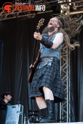 Ensiferum op Into The Grave 2015 foto