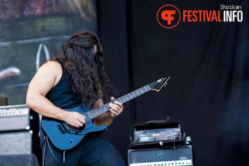 Obituary op Into The Grave 2015 foto