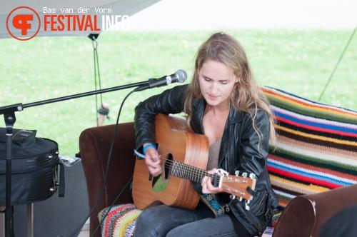 Amber Kamminga op Festival The Brave 2015 foto