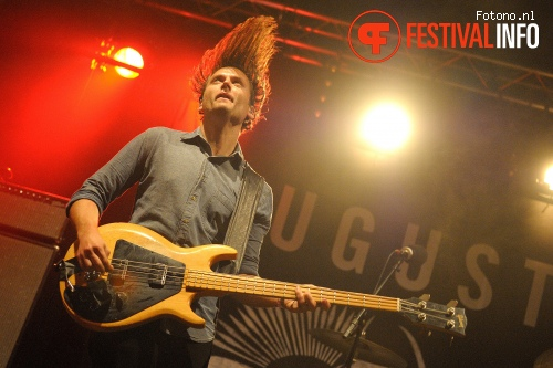 Augustines op Festival The Brave 2015 foto