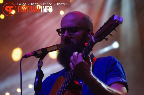 Foto William Fitzsimmons op Sziget 2015 - Zaterdag