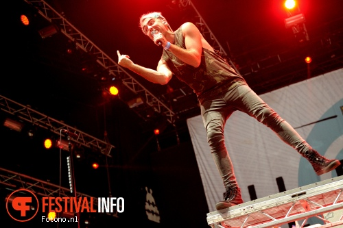 All Time Low op Lowlands 2015 - vrijdag foto