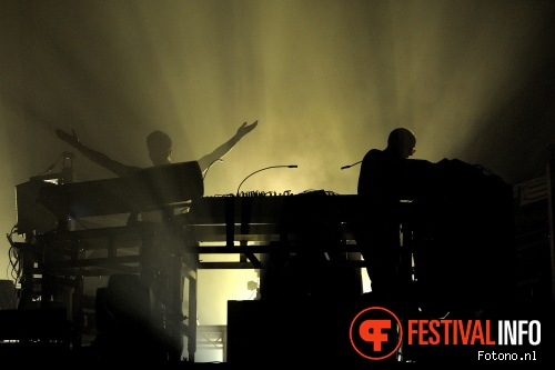 The Chemical Brothers op Lowlands 2015 - zaterdag foto