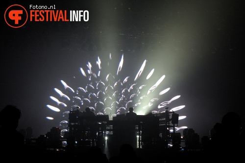Foto The Chemical Brothers op Lowlands 2015 - zaterdag