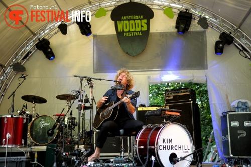 Kim Churchill op Amsterdam Woods Festival 2015 - zaterdag foto