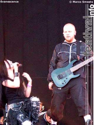 Evanescence op Pinkpop 2003 foto