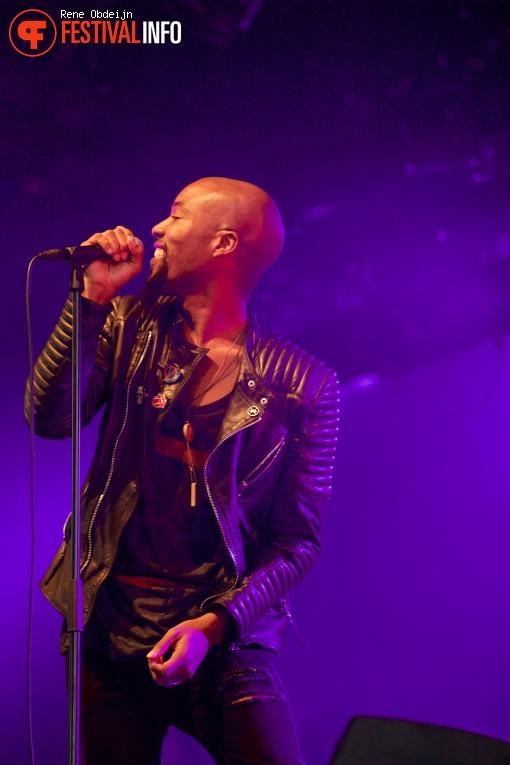 Foto Sven Hammond op Bluesrock Festival Tegelen 2015