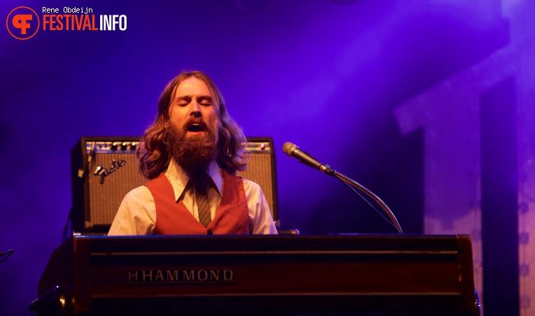 Foto DeWolff op Bluesrock Festival Tegelen 2015