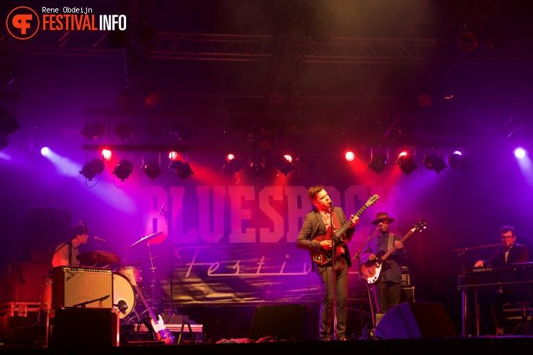 Foto Eli 'Paperboy' Reed op Bluesrock Festival Tegelen 2015