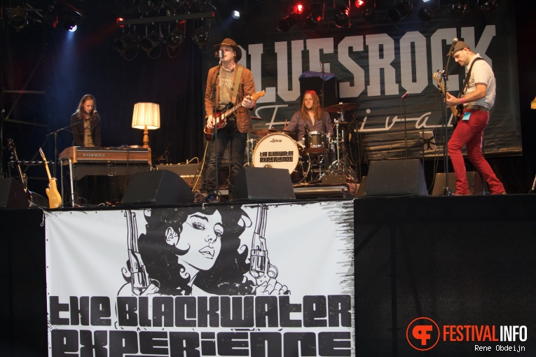 The Blackwater Experience op Bluesrock Festival Tegelen 2015 foto