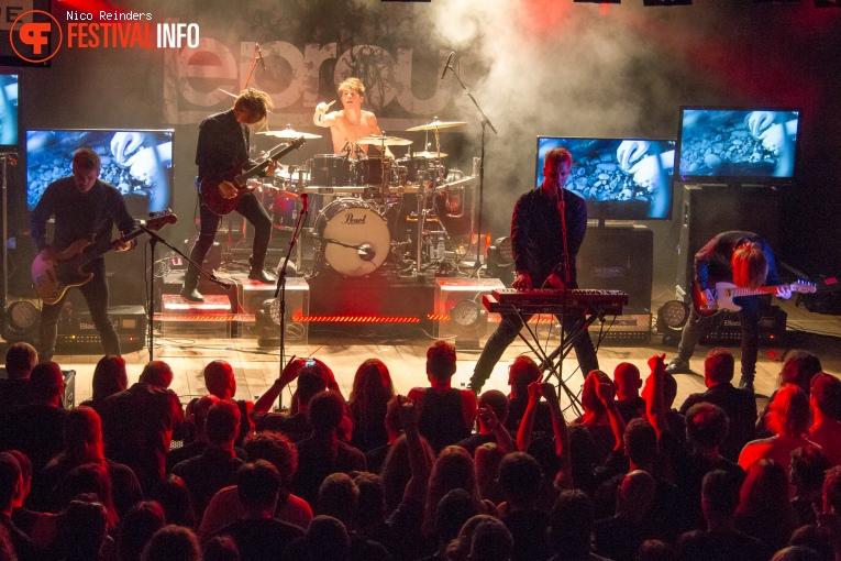 Foto Leprous op ProgPower Europe 2015