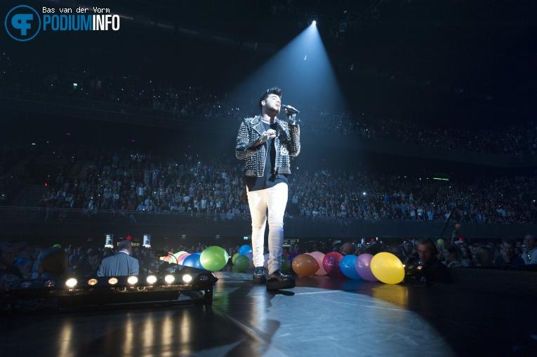 Foto Adam Lambert op 538LIVE XXL 2015