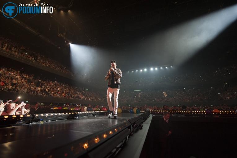 Adam Lambert op 538LIVE XXL 2015 foto