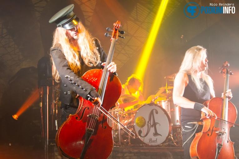 Apocalyptica op Apocalyptica - 23/10/2015 - Melkweg foto
