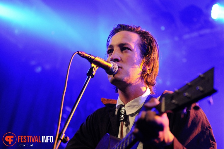 Foto Marlon Williams op London Calling #2 2015 - vrijdag