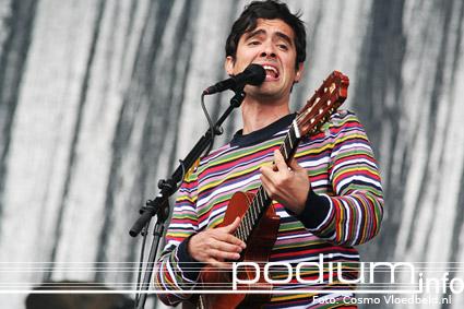 Gabriel Rios op Pinkpop 2007 foto