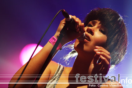 Maria Mena op Pinkpop 2007 foto