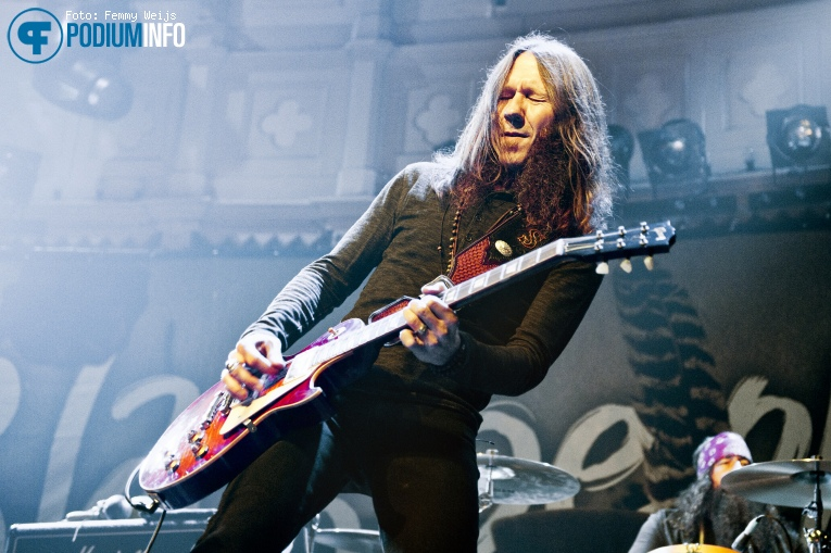 Blackberry Smoke op Blackberry Smoke - 01/11 - Paradiso foto