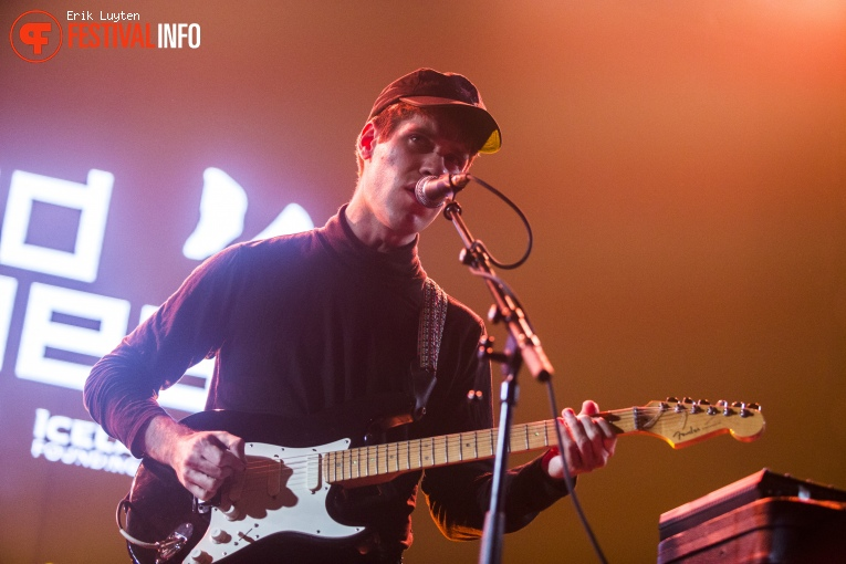Foto Porches op Iceland Airwaves 2015