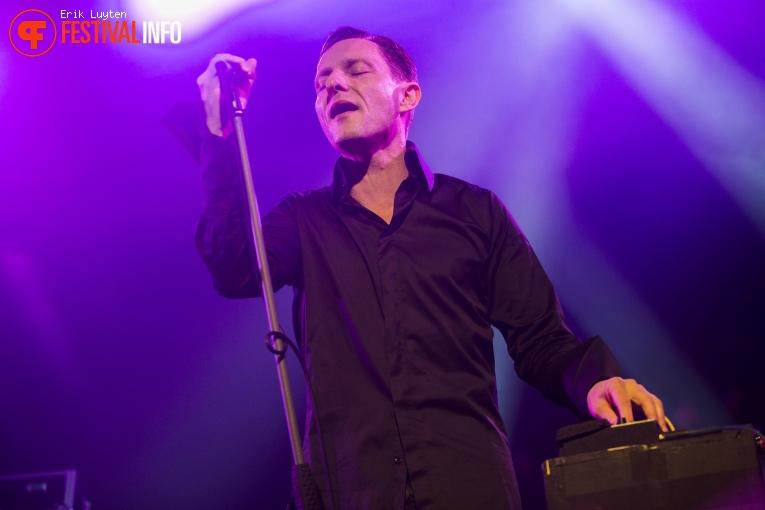 Foto GusGus op Iceland Airwaves 2015
