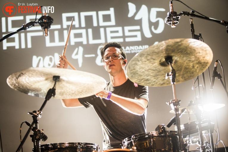 Braids op Iceland Airwaves 2015 foto