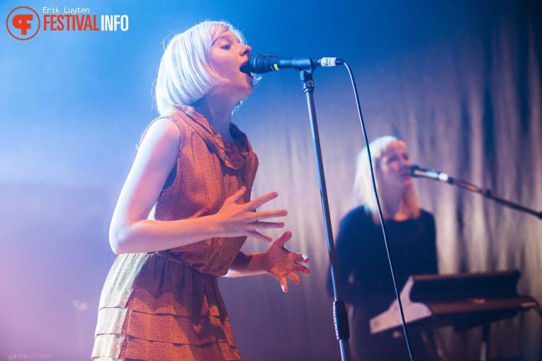 Aurora op Iceland Airwaves 2015 foto