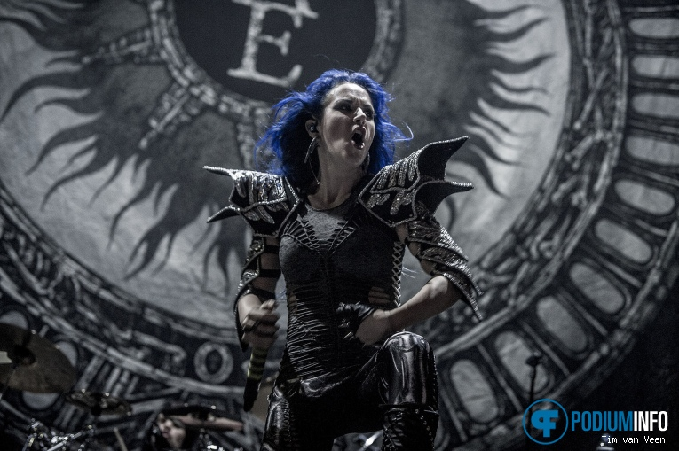 Arch Enemy op Nightwish - 19/11 - Heineken Music Hall foto