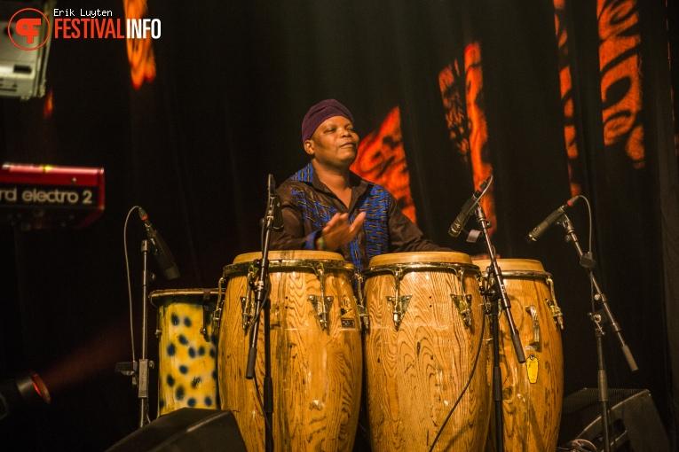 Orchestre Poly-Rythmo de Cotonou op Le Guess Who? 2015 - Zaterdag foto