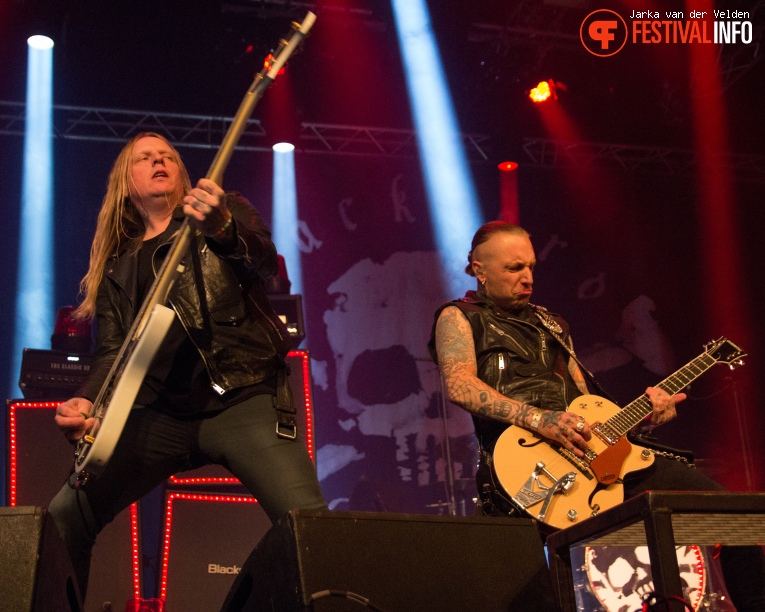 Foto Backyard Babies op Speedfest 2015