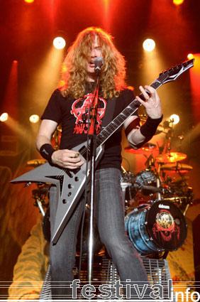 Foto Megadeth op Schwung 2007