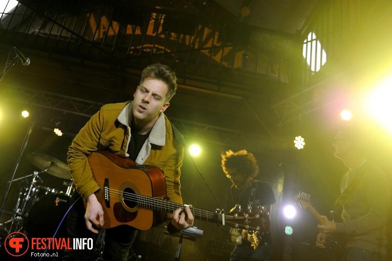 Stuart Mavis op Eurosonic Noorderslag 2016 - Donderdag foto