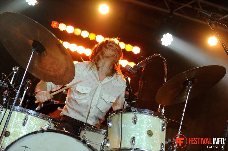 DeWolff op Eurosonic Noorderslag 2016 - Donderdag foto