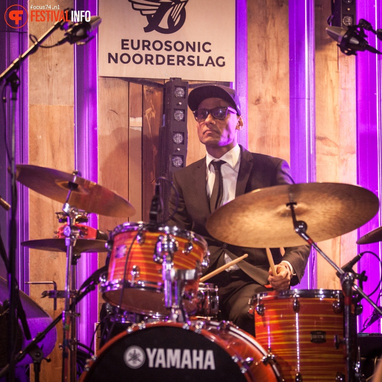 Charl Delemarre op Eurosonic Noorderslag 2016 - Zaterdag foto