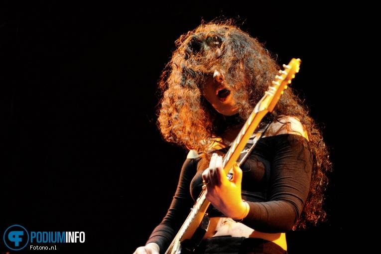 Sara Hartman op Ellie Goulding - 26/1 - Ziggo Dome foto