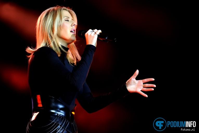Ellie Goulding op Ellie Goulding - 26/1 - Ziggo Dome foto