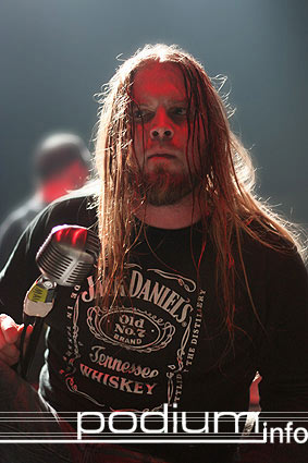 Drowning Pool op Life of Agony - 18/6 - 013 foto