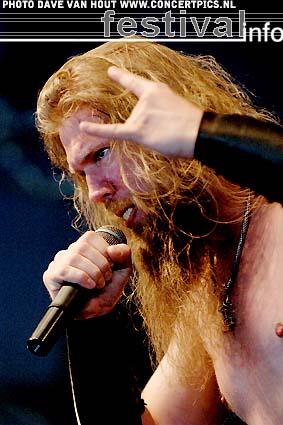 Foto Amon Amarth op Fields of Rock 2007