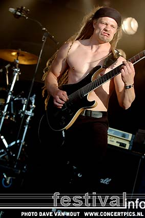 Foto Pain Of Salvation op Fields of Rock 2007