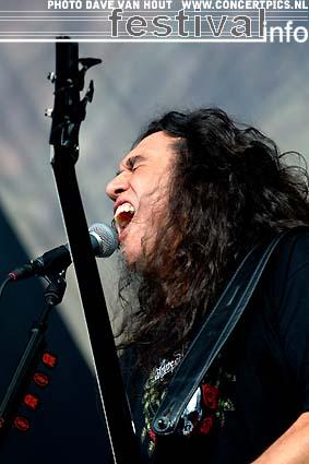 Foto Slayer op Fields of Rock 2007