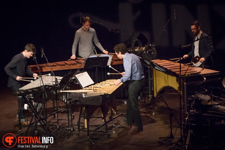 Foto Third Coast Percussion op Cross-linx (Rotterdam) 2016