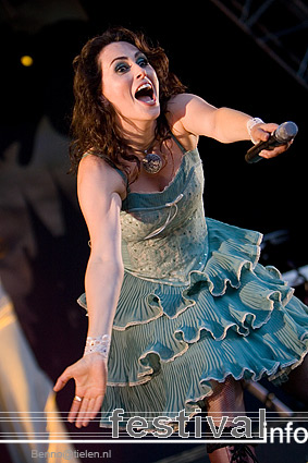 Foto Within Temptation op Indian Summer Festival 2007