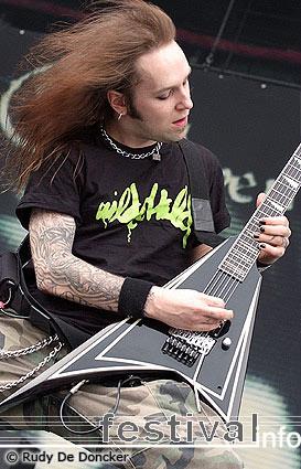 Bodom After Midnight op Graspop Metal Meeting 2007 foto