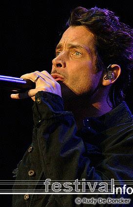 Chris Cornell op Graspop Metal Meeting 2007 foto