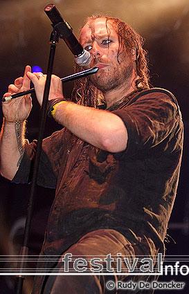 Eluveitie op Graspop Metal Meeting 2007 foto