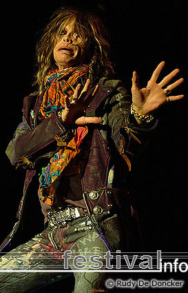 Foto Aerosmith op Graspop Metal Meeting 2007