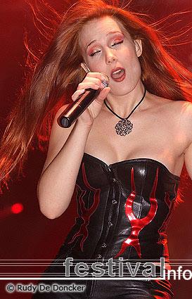 Epica op Graspop Metal Meeting 2007 foto