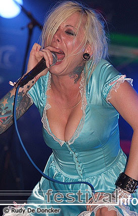 In This Moment op Graspop Metal Meeting 2007 foto