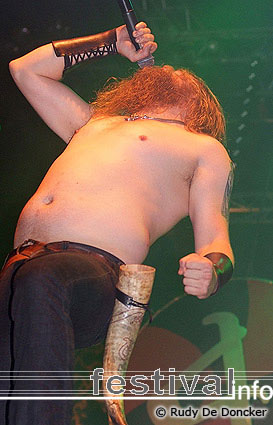 Amon Amarth op Graspop Metal Meeting 2007 foto